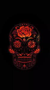 iphone skull wallpaper kolpaper