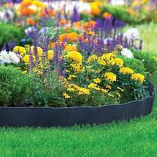 Border Fencing Eco Friendly Weatherproof Recycled Plastic Resin Garden Abba Patio