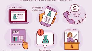 how to check your bank balance 6 ways