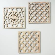 carved wood wall art for asian