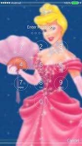 cinderella princess lock screen hd