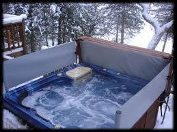 Hot Tub Screens Retractable Spa Screens From Moose Lake