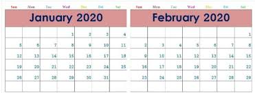 Image result for january and february 2020
