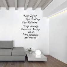 Heaven Wall Decor Motivational Quote Vinyl Decor Wall Decal Customvinyldecor Com
