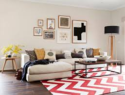 beige sofas in the living room