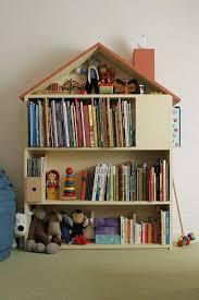 House Bookshelf Bookshelves Diy Dollhouse Bookshelf Kids Book Storage