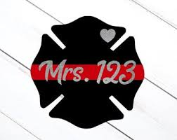 Fire Wife Decal Etsy