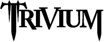 Amazon Com Trivium Rock Band Vinyl Decal Sticker 6 Wide Gloss White Color