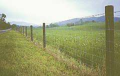 Max Flex High Tensile Woven Wire Fence