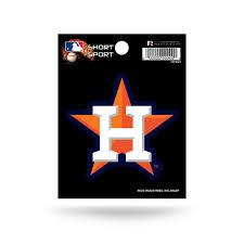 Houston Astros 3 X 3 Die Cut Decal New Mlb Car Or Laptop Hub City Sports