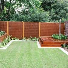 Backyard Decking And Fence Pat Beautiful Decks Concrete Home Elements Style Ideas Easy Multi Level Deck Wood Back Yard Landscaping Crismatec Com