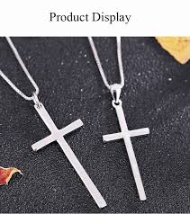 cross pendant necklace for 925