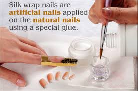 how to remove silk wrap nails in