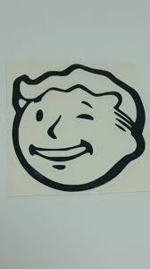 Vault Boy Head Vinyl Decal Sticker By Vault711designs On Etsy Vinyl Decal Stickers Vinyl Decals Vinyl