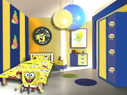 Room Spongebob Trendy Home Decorations