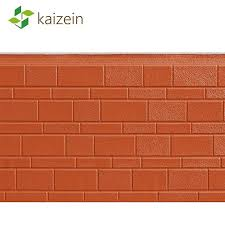 metal foam exterior brick wall panels