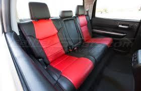 tundra leather kit black bright red