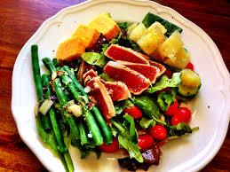 Ahi Tuna Nicoise Salad -
