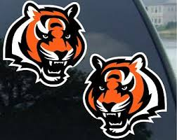 Bengals Decal Etsy