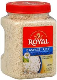 royal basmati rice 32 oz nutrition