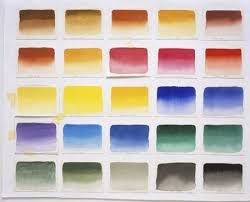 tones and color values in paintings