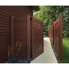 Bufftech Breezewood Select Cedar Vinyl Fence Panels Hoover Fence Co