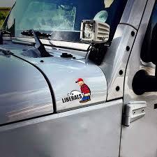 Peeing On Liberals Donald Trump Bumper Stickers Laptop Decal Car Vinyl Phone Trucks Window Bumper Stickers Laptop Decal 2020 Car Stickers Aliexpress