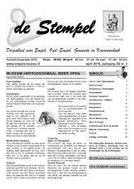 Stempel 2016 04 By Peter Wagenaar Issuu