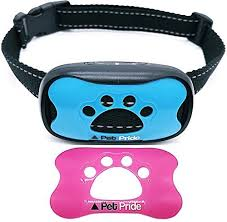 No Shock Anti Bark Collar Stop Barking In Minutes With Pet Prides Bark Collar For Small Medium Large Dogs Comes In Pink Blu Anti Bark Collar Pets Medium Dogs
