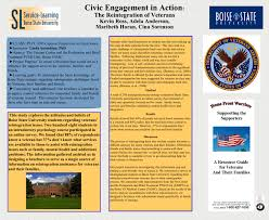 Civic Engagement in Action : The Reintegration of Veterans Kevin ...