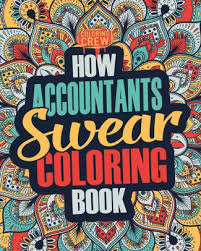 how accountants swear coloring book a