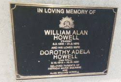 William Alan Howell (1906-1976) - Find A Grave Memorial