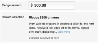 how to reward your kickstarter project