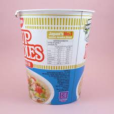 nissin cup noodles seafood flavor
