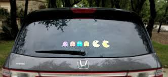 Pac Man Family Car Decals Diy Morena S Corner