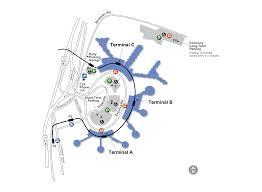 airport maps ewr newark liberty airport