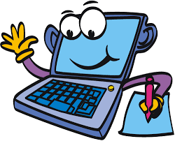 Computer cartoon laptopputer clipart - WikiClipArt