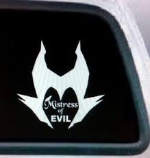 Mistress Of Evil Maleficent Vinyl Decal Ebay