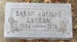 """Sarah Adeline """"Addie"""" Richardson Lanham (1854-1926) - Find A Grave Memorial"""