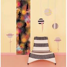 Jumping Jack Flash Wall Stripe Stickers Extreme Wall Decals