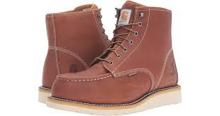 6 inch steel toe waterproof wedge boot