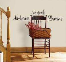 All Because Two People Fell In Love Wall Decal Allposters Com