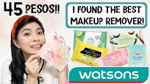 best makeup remover wipes sa watsons