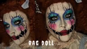 rag doll halloween costume makeup