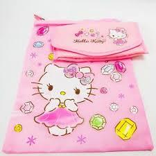 set pink gems makeup bag nylon fabric