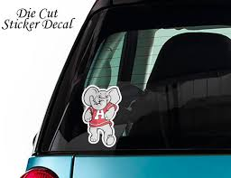 Decal Color Sticker Vinyl Alabama Crimson Tide Mascot Logo Etsy