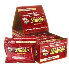 honey stinger energy chews cherry