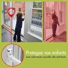 patio door security bar with anti lift