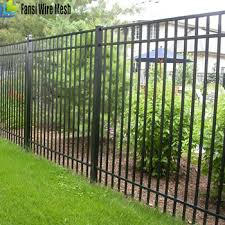 Ironcraft Black Powder Coated Aluminum Fence Panels Buy Commercial Fence Docrative Ornament Adorn Commercial Fence Panels China Cheap Decorative Commercial Fence Panels Product On Alibaba Com