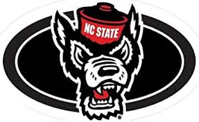 Amazon Com 5 Inch Mr Wuf North Carolina Nc State University Wolfpack Ncsu Wolf Pack Logo Removable Wall Decal Sticker Art Ncaa Home Room Decor 5 By 3 Inches Baby